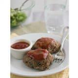 Mini Skillet Meatloaves   Taste and Tell #recipe #beef #dinner