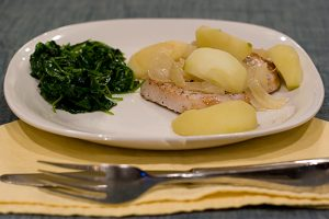 Pork Chops and Apples | www.tasteandtellblog.com