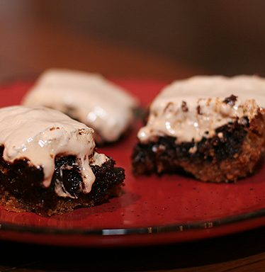 S'more Brownies | www.tasteandtellblog.com
