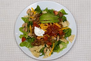 California Taco Salad | www.tasteandtellblog.com