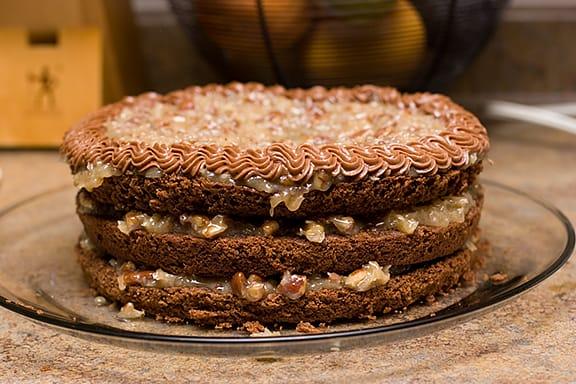 German Chocolate Cake | www.tasteandtellblog.com