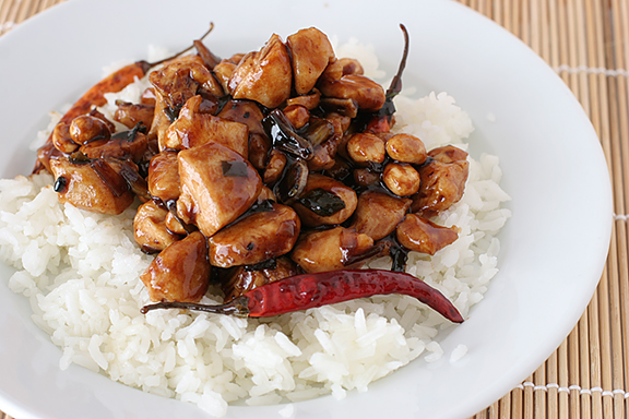 Kung Pao Chicken   www.tasteandtellblog.com
