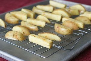 Oven-Fried Potatoes | www.tasteandtellblog.com