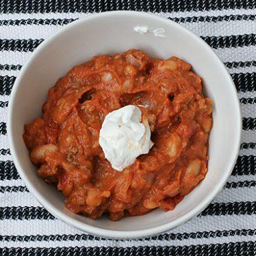 Pumpkin Chili   www.tasteandtellblog.com