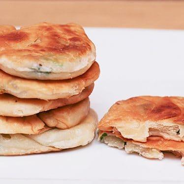 Scallion Pancakes | www.tasteandtellblog.com