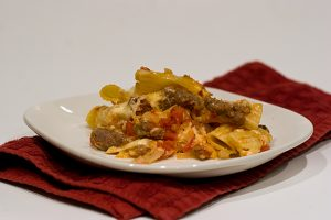 Baked Ziti with Sausage | www.tasteandtellblog.com