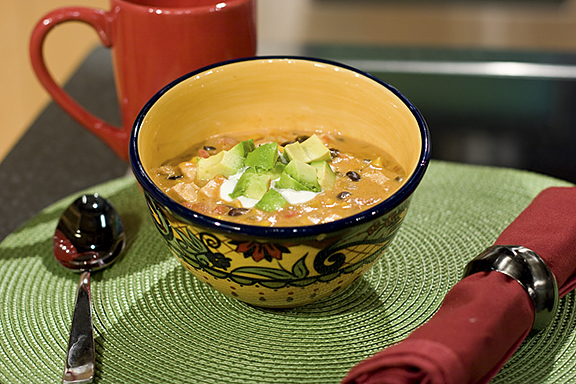Chicken and Cheese Enchilada Chowder {Recipe Rewind}