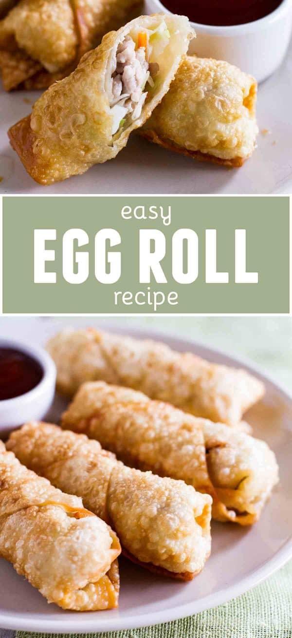 Easy Egg Rolls