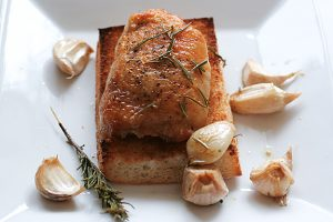Garlic Roasted Chicken | www.tasteandtellblog.com
