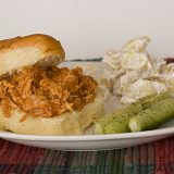 Meg's Shredded Barbecue Chicken Sandwiches | www.tasteandtellblog.com