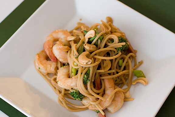Thai Shrimp and Noodles | www.tasteandtellblog.com