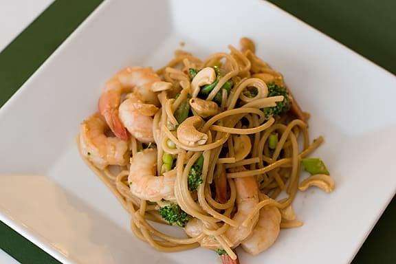 Thai Shrimp and Noodles | www.tasteandtellblog.com