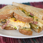 Denver Eggs and Potato Hash Sammies | www.tasteandtellblog.com