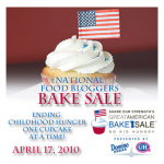National Food Bloggers Bake Sale!