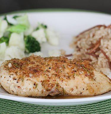 Honey-Rosemary Chicken and Rice Pilaf | www.tasteandtellblog.com