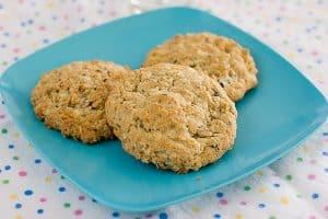 Oatmeal Coconut Cookies n Cream Cookies   www.tasteandtellblog.com