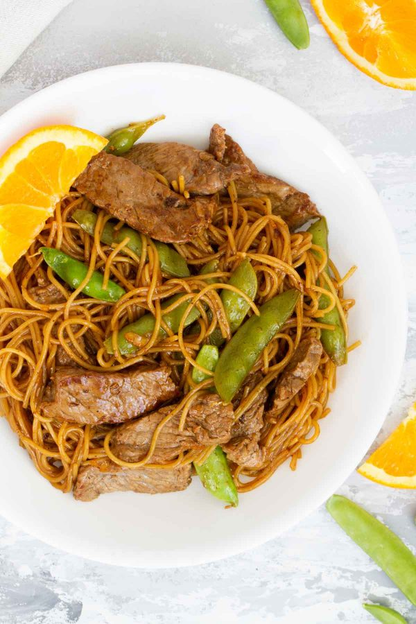 How to make Orange Teriyaki Beef with Noodles