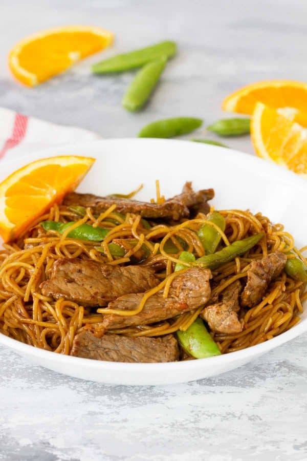 Easy teriyaki noodles - Orange Teriyaki Beef with Noodles