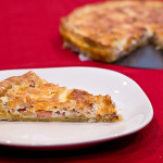 Cookbook of the Month Recipe – Quiche Lorraine