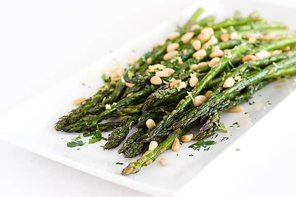 Roasted Asparagus | www.tasteandtellblog.com