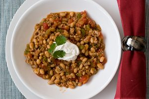 Turkey and Bean Chili | www.tasteandtellblog.com
