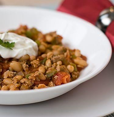Turkey and Bean Chili | www.tasteandtellblog.com