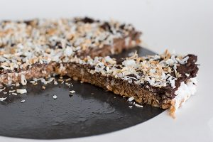 Chocolate Marshmallow Crunch Tart | www.tasteandtellblog.com