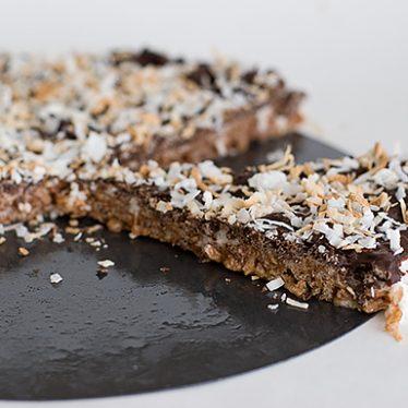 Chocolate Marshmallow Crunch Tart | www.tasteandtellblog.com