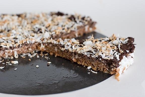 Chocolate-Marshmallow Crunch Tart