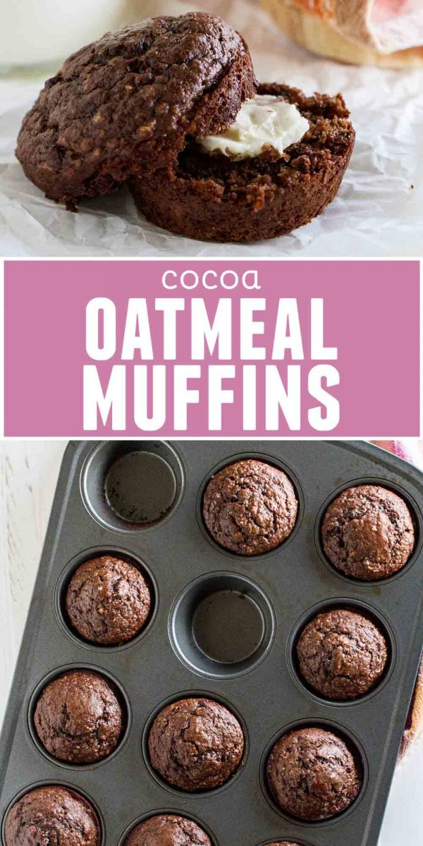 How to make Cocoa Oatmeal Muffins