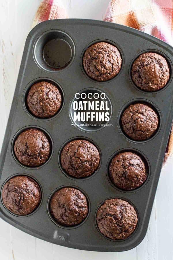 Cocoa Oatmeal Muffins