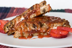 Jam 'n' Cream French Toast | www.tasteandtellblog.com