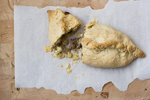 Meat and Potato Pasties | www.tasteandtellblog.com