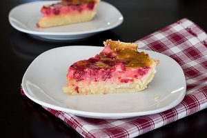 Raspberry Tart with Lemon Creme Brulee | www.tasteandtellblog.com