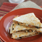 Sweet-Potato Chicken Quesadillas {Saturdays with Rachael Ray}