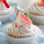 The classic Mexican dessert- Tres Leches Cake - goes single sized in these Tres Leches Cupcakes that would be perfect for any Cinco de Mayo celebration.