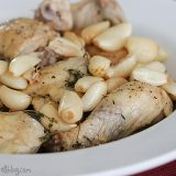 40 Cloves and a Chicken | www.tasteandtellblog.com