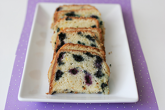 Blueberry-Orange Loaf | www.tasteandtellblog.com