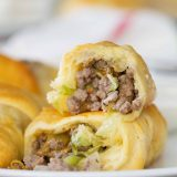 inside view of Cabbage and Beef Bundles