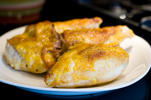 Crispy Skinned Chicken a l'orange | www.tasteandtellblog.com