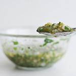 Essential Roasted Tomatillo Serrano Salsa | www.tasteandtellblog.com