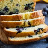 quick bread recipe - Orange Blueberry Bread