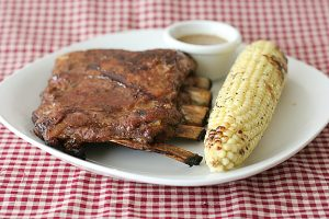 Ribs with Honey Mustard Glaze | www.tasteandtellblog.com