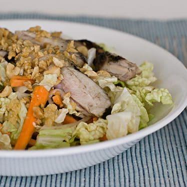 Vietnamese Chicken and Cabbage Salad | www.tasteandtellblog.com