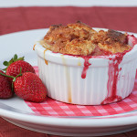 Warm Cajeta Pudding with Fresh Berries {Cookbook of the Month Recipe}