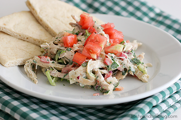 Chicken Salad with Yogurt-Ranch Dressing