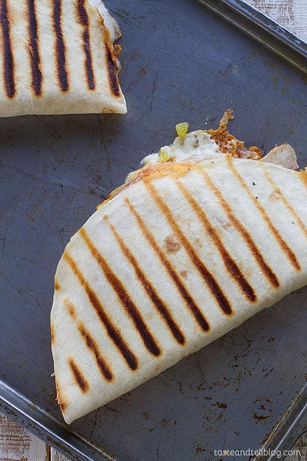 Grilled Cuban Quesadilla Recipe