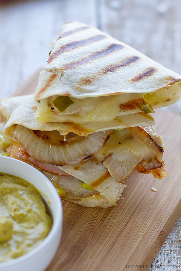 Quesadillas with a Cuban twist - Cuban Quesadilla Recipe