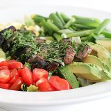 Steak-Swap Cobb Salad | www.tasteandtellblog.com