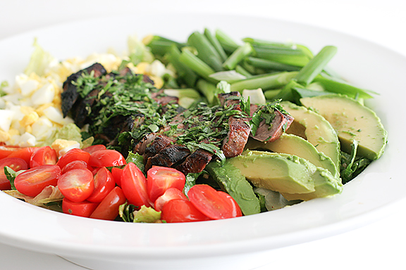 Steak-Swap Cobb Salad